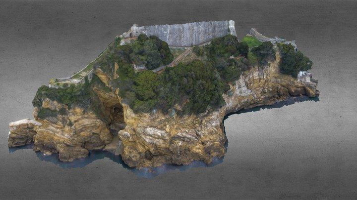 Lerici - Dietro il Castello 3D Model