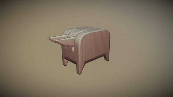 Bull (Insects) 3D Model