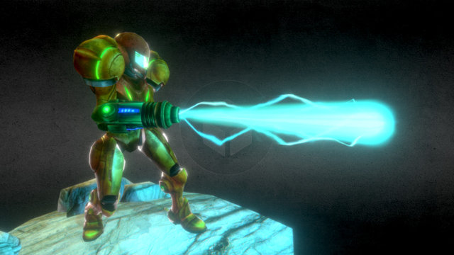 Samus - Super Metroid 3D Model