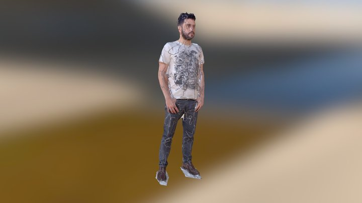 Fonz Test Mesh 3D Model