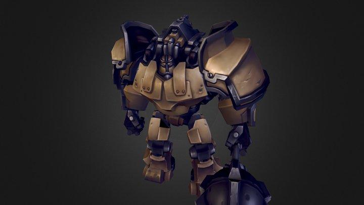 Chaplanin / Inferno 3D Model