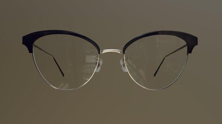 Butterfly glasses 3D Model