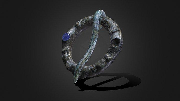 Ring-shaped fibula XI-XII centuries 3D Model