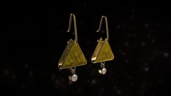 Dangle Earrings 3D Model