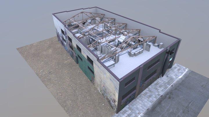 GhostShipRedux2ndFloor 3D Model