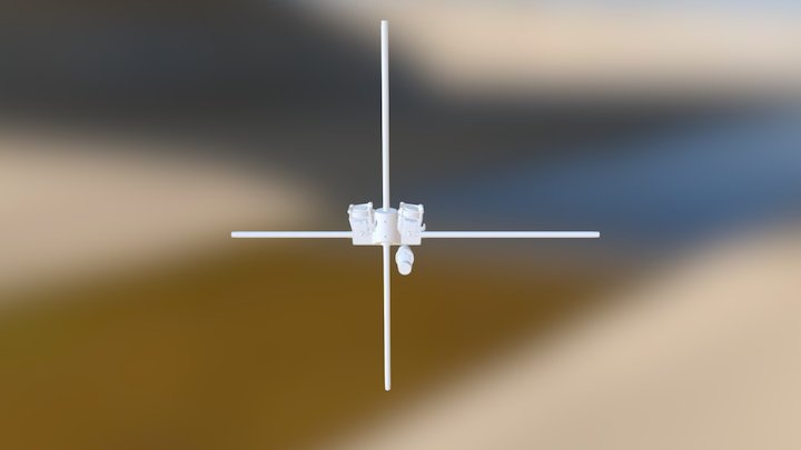 XY Carriage Full Bowden Subassembly 3D Model