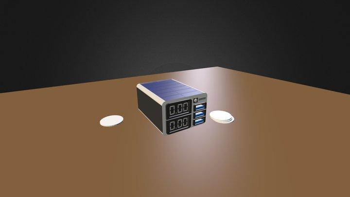 Portable Power Supply.blend 3D Model