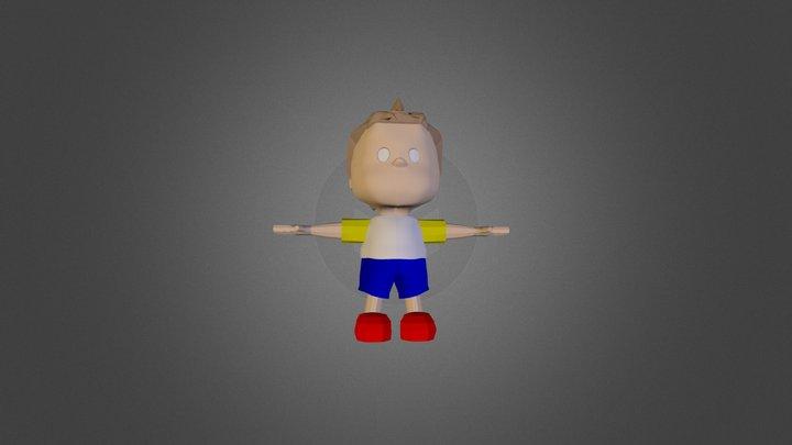 nene.fbx 3D Model