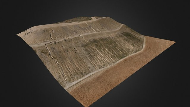 Ladera mina Utrillas 3D Model
