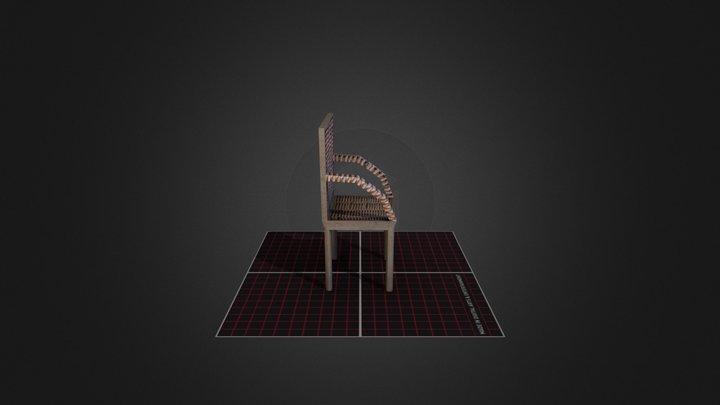 Stoel Jonas Smeets DAE12 3D Model