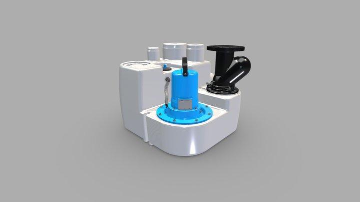 Sanistar 3D Model