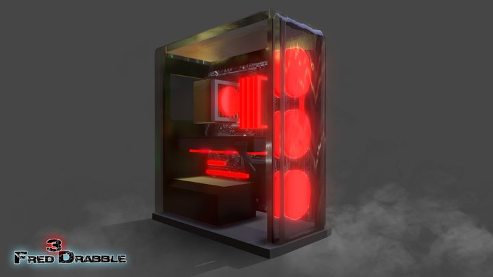 GAMING PC FREE DOWNLOAD 3D Model