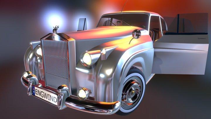 Rolls Royce Silver Cloud II 1959 3D Model