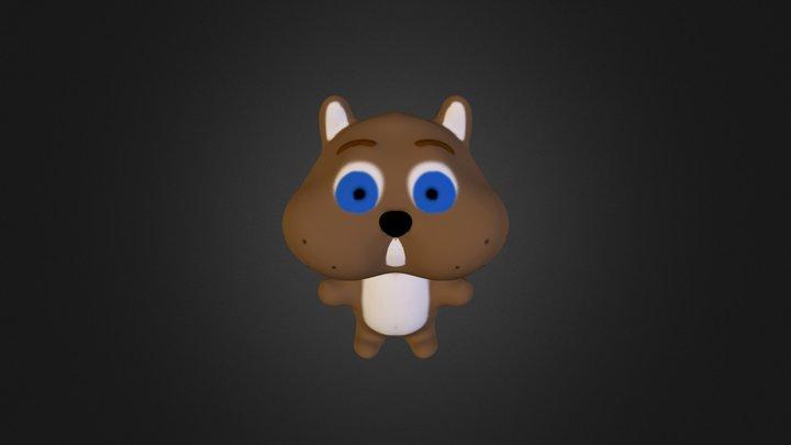 Squirrel1 3D Model