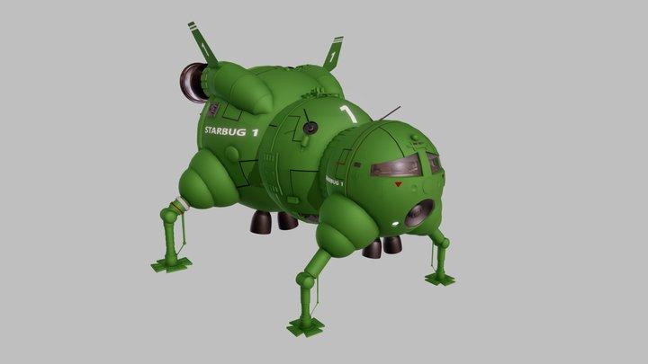Starbug 1 3D Model