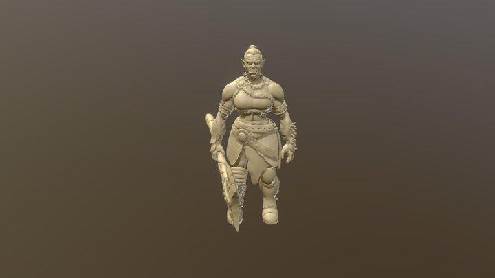 She- Orc 5 3D Model