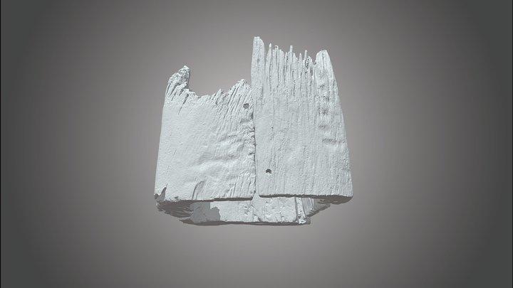 vierkante boomstamwaterput 3D Model