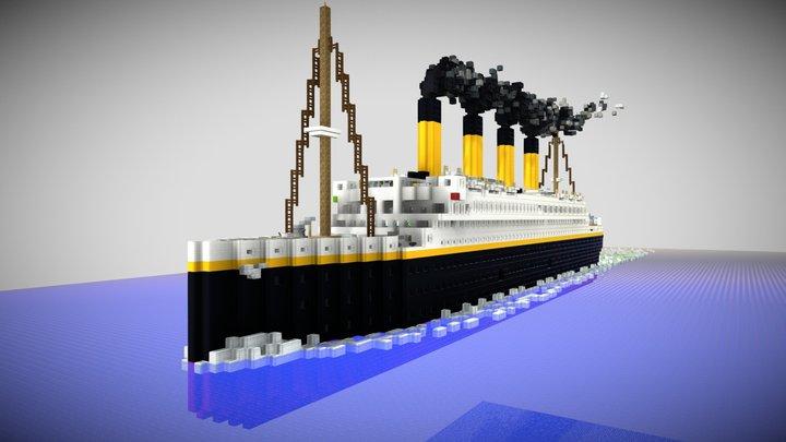 RMS Titanic 3D Model
