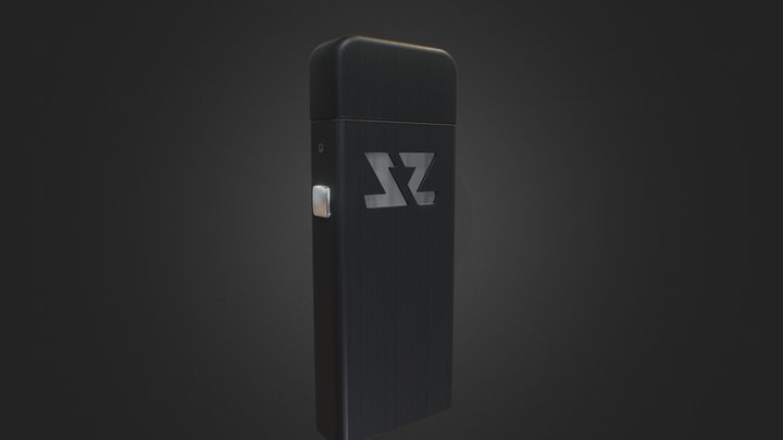 ZeltuX Edition One - Black | Brushed Cap 3D Model
