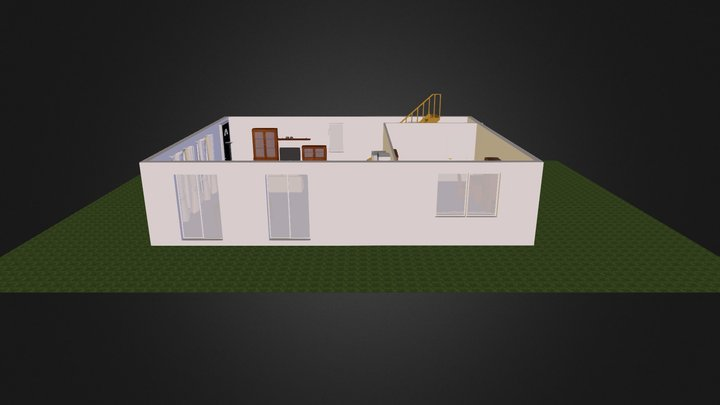 1 F 3D Model