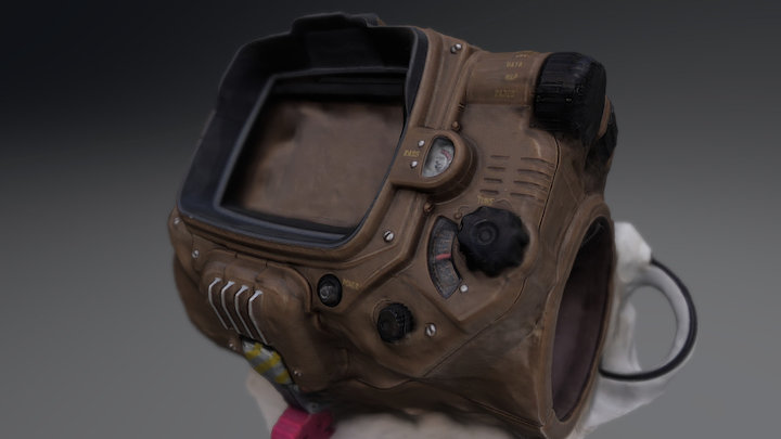 Pipboy - 3D Scan 3D Model