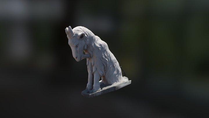 Saint Mary Gargoyle 3D Model