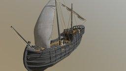 Notorious ship (lowpole) 3D Model