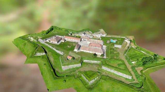 Fort Barraux 3D Model