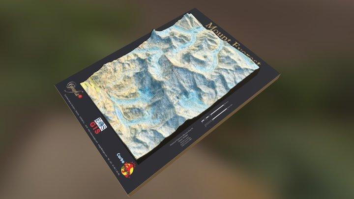 MOUNT EVEREST for 3D printing 3D Model