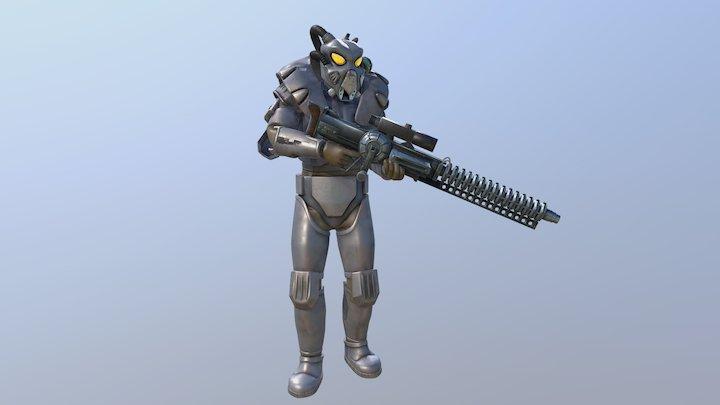 Fallout: Enclave Soldier / Advanced Power Armor 3D Model