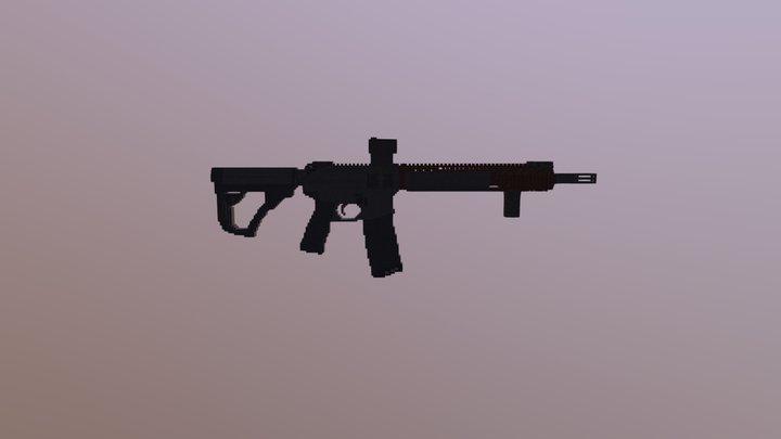 Daniel Defense MK18/M4A1 3D Model