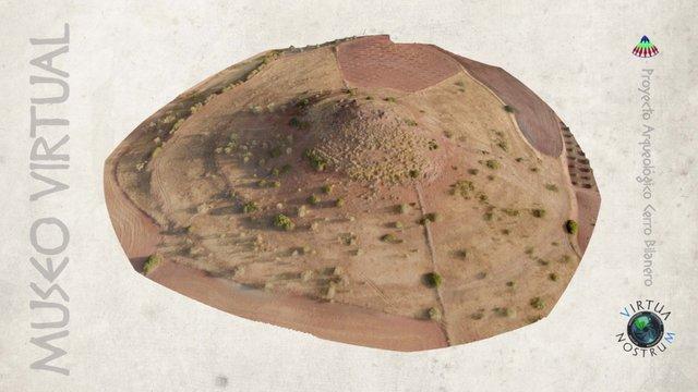 El Cerro Bilanero y alrededores (Campaña 2015) 3D Model