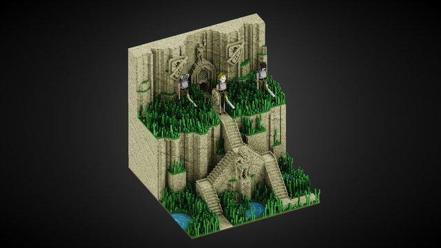 The Phalan Brothers 3D Model