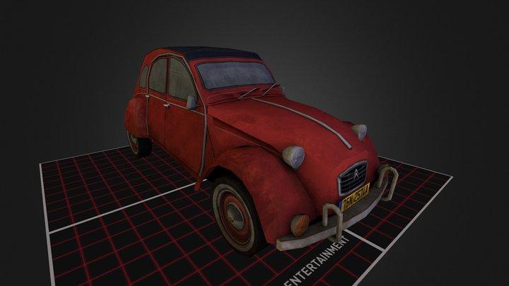 Citroen CV2 3D Model