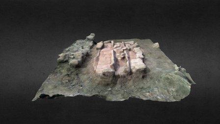 COMPLEJO ESTRUCTURAL FUNERARIO 13 y 14 3D Model