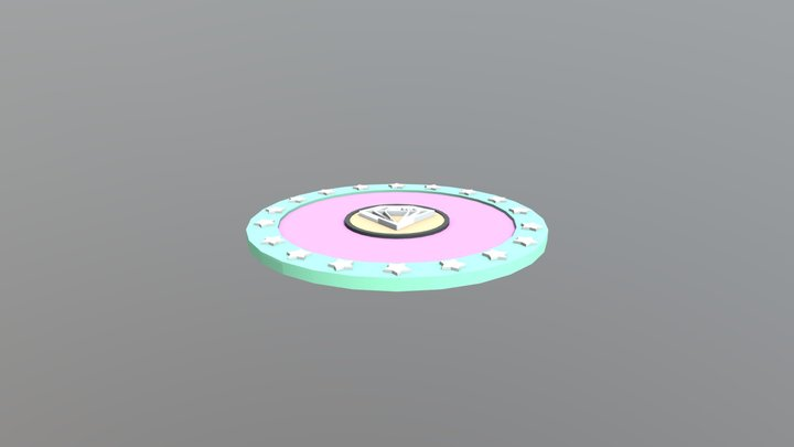 nana gem_card 3D Model