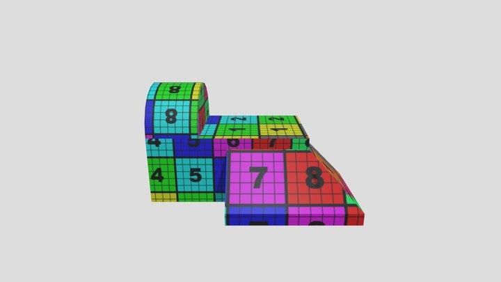 myUVMap_building 3D Model