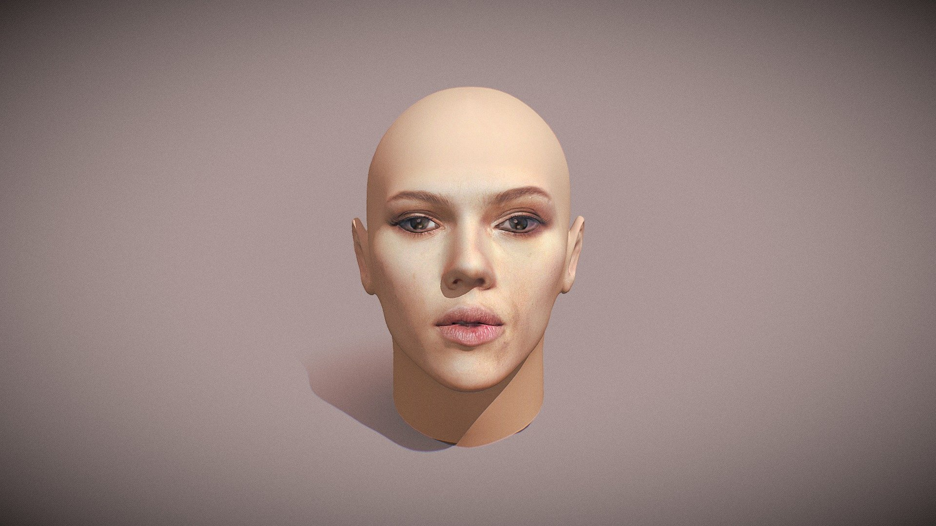 Scarlett Johansson 3d Head Face Download Free 3d Model By Leon Primer Heybabywasgeht Dc3812a Sketchfab