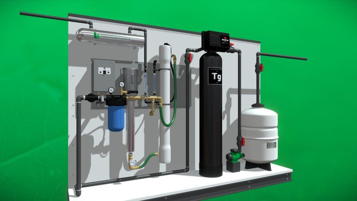 Water Treatment - totalgrowcontrol.com 1800 gal 3D Model
