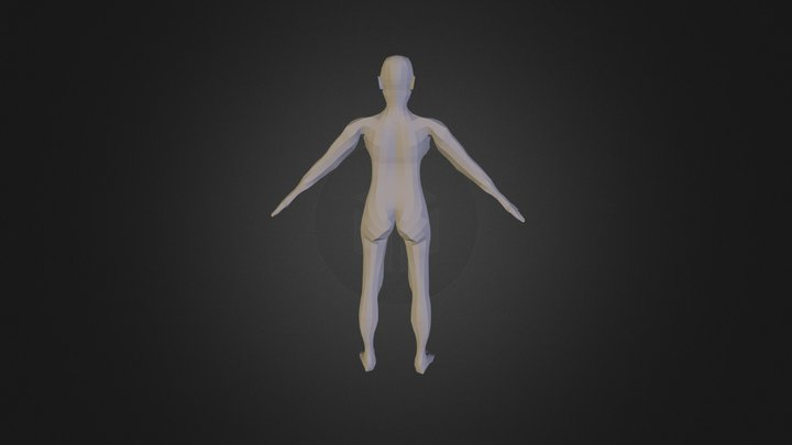 3d Model Female Character 3D Model