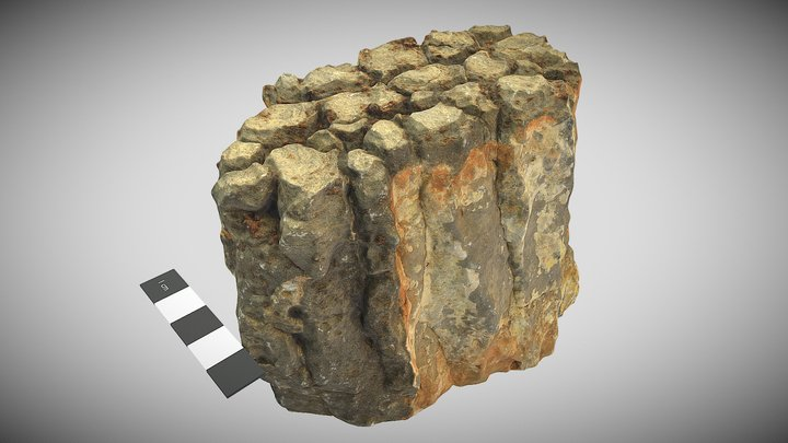 Bitter Springs stromatolite (disintegrating) 3D Model