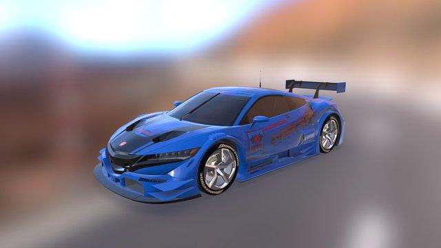 Acura NSX GT 3D Model