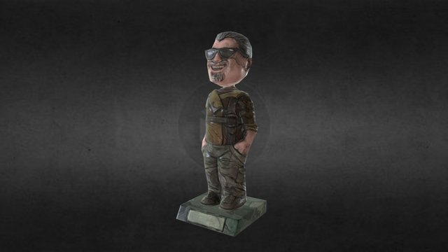Marcus Bobblehead 3D Model