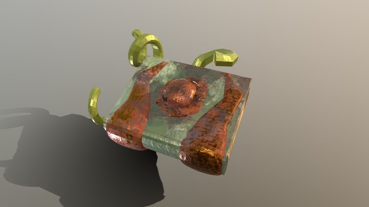 Necronomicon 3D Model