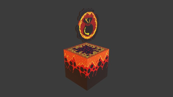 Inventory_fire 3D Model