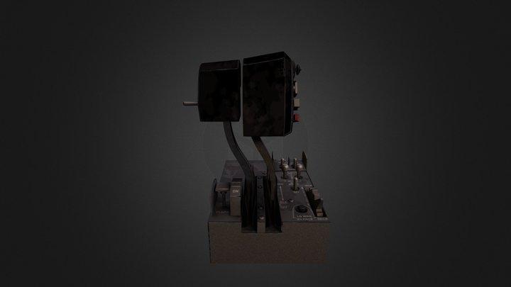 P E Throttle T J B 2014 Baked Master 001 3D Model