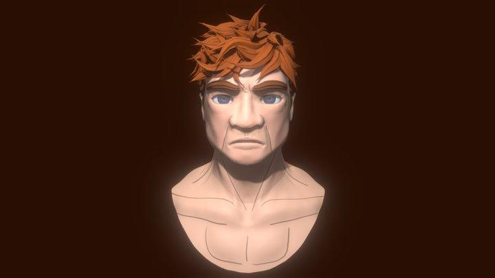 Killshot McChuill - Character Bust 3D Model