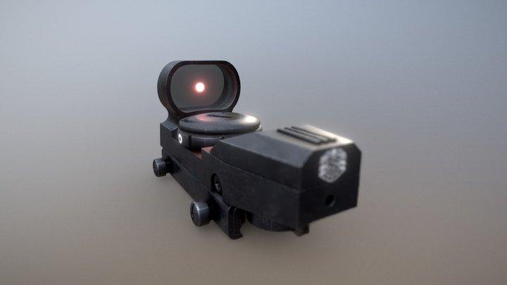Reflex Sight 3D Model