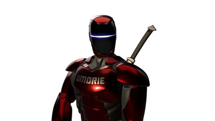 Umorie Combat Pose 3D Model