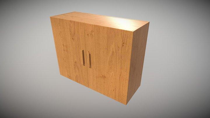 Cabinet Sample 01 3D Model
